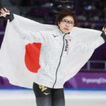 小平奈緒選手、金メダルおめでとう